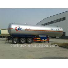 Big capacity 58.5M3 LPG tank semi-trailer, 3 axles lpg trailer