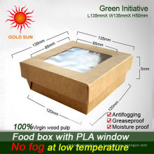 caixas de alimentos isolados