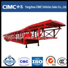Semi reboque do portador de SUV do carro do eixo do Cimc 3 para Vietname