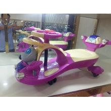 Nuevo diseño colorido 4 ruedas niños juegan coches de juguete Swing para niños Twist Car