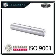 15ml KIRA Slim CNC Brushed Silver Twist up Recharge Bouteille de parfum