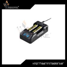 Chargeur Xtar Vp2 avec écran LED pour batterie ionique 18650 16340