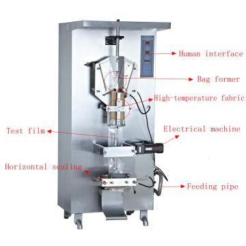 Многофункциональный Автоматическая Вертикальная Пластиковый Sachet Заполняя Машина Запечатывания