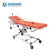 SKB039 (G) Chariot réglable de civière de transfert d'hôpital d'ambulance