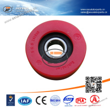 241535 Original JFSchindler Escalator Chain Roller 70*25mm 6204 Red Color Escalator Roller