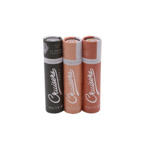 OEM Brand Factory Luxury Design Rigid Cardboard Paper Gift Custom Lipstick Packaging Paper Tube