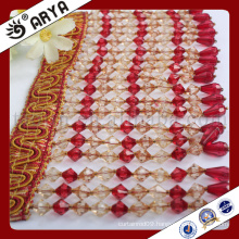 hangzhou taojin textile long rank beads fringe for curtain decoration and other home textile
