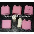 Uso industrial Almohadilla de perlas de calefacción de cerámica flexible del alúmina del 95% para el elemento de calefacción