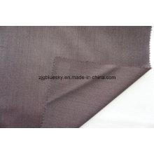 Tissu de laine rouge foncé pour costume