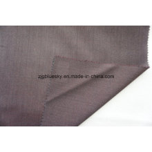 Dark Red Wool Fabric for Suit