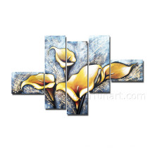 Home Decorative Flower Art Canvas Oil Painting