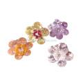 Мода Ручной Работы Циркон Цветок Серьги Для Женщин