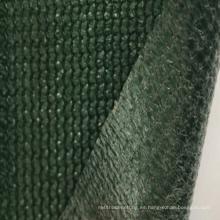 La mejor calidad 100% virgen HDPE impermeable verde sombra precio neto
