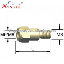 mig welding torch brass tip holder