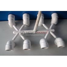Moule en plastique de tuyau, moule convenable de tuyau de PVC