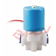 Electroválvula de plástico de acción directa mini válvula de solenoide