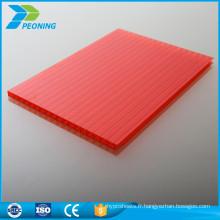 Matériau Bayer: feuille de couverture transparente en polycarbonate 6mm pour serre