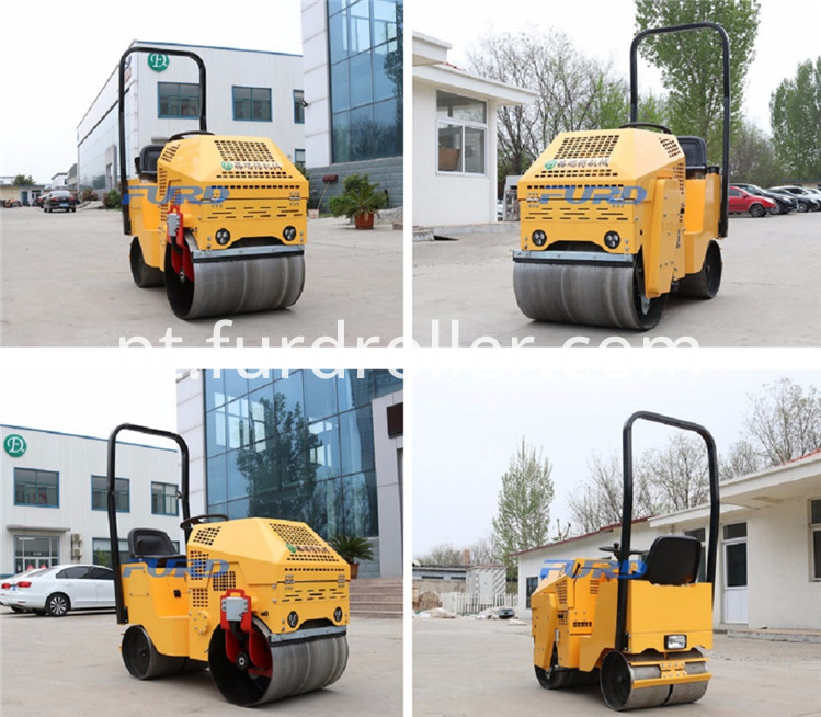 Double Drums Soil Compactor Roller