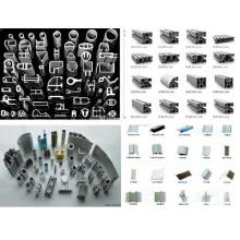 Perfis extrudados de alumínio personalizados OEM