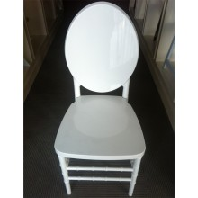 White Stacking Victoria Ghost Chair