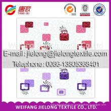 weifang shandong estampado floral tela de algodón para sábana