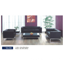 Popular Office Leather Sofa Ya-316
