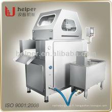 Machine d'injection de solution saline de viande