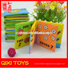 hot item baby soft washable fabric baby cloth book