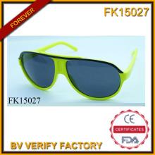 Brilho verdes simples óculos de sol (FK15027)