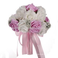 Ramo hermoso artificial nupcial de la boda de la flor de la manera de las ventas al por mayor