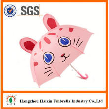 Professional Auto Open Cute Printing cute design kids umbrella