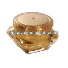 Cosmetic Packaging Acrylic Diamond Jars