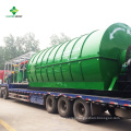 Small scale tires recycling pyrolysis plant manufacturer and supplier