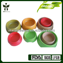 biodegradable plant fiber pet bowl sets
