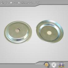Estampage de pièces en acier moulé avec revêtement de zinc