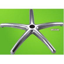 La aleación de aluminio del OEM a presión la base de la silla de las fundiciones para los muebles