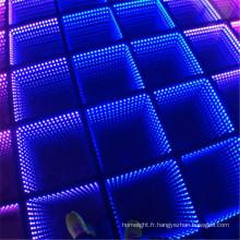 Décorations de mariage allument plancher de danse Starlit 3D interactive LED