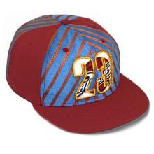 23 Snapback-Hut Stripde-Baseballmützen Goldener Brief-Kappe
