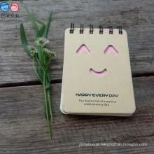 Bloco de notas Kraft-Paper personalizado, bloco de notas Memo