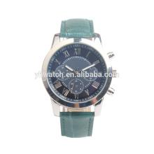 Roman Numerical Leather Strap Uhr, Business Casual Mode, wasserdicht und komfortabel