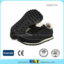 Conception de semelle intercalaire en caoutchouc confort pour les chaussures de course Homme