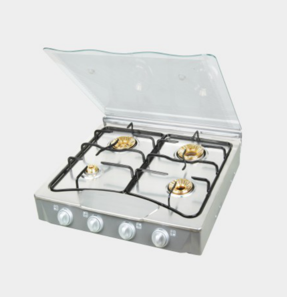 4 Burner Glasstop Gas Cooker