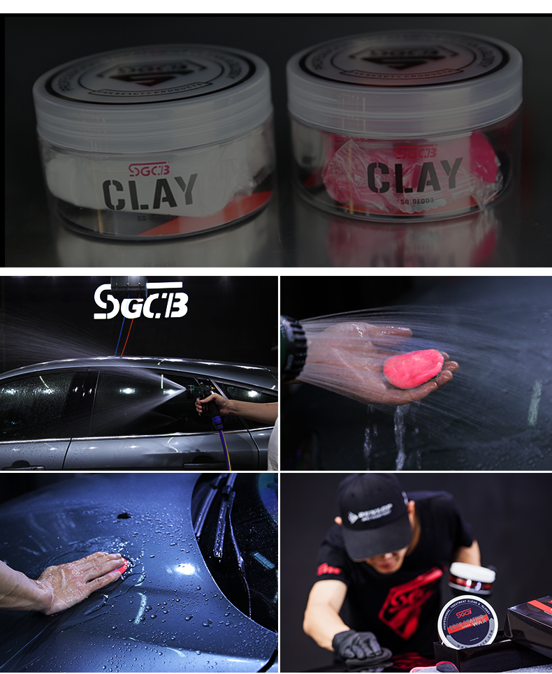 clay bar how to use