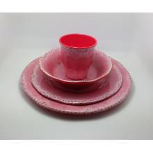 (BC-MK1010) Sistema reutilizable de la cena de la melamina 4PCS del diseño de Fashinable