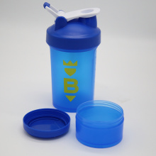 Factory selling for China Gym Shaker,Food Grade Shaker Bottle,Sports Shaker,Mixball Shaker Manufacturer 450ml Blue Protein Shaker with storage 150cc Jar export to British Indian Ocean Territory Wholesale