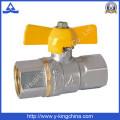 Robinet à bouée en laiton en plomberie forgée (YD-1021)
