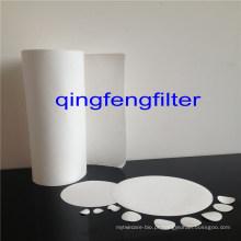 Papel de filtro de nylon da membrana para o tratamento de águas residuais do chapeamento
