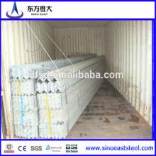 Barre d'acier à angle galvanisé égale