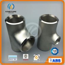 Colocación de tubo de la camiseta de la igualdad del acero inoxidable Wp304 / 304L con Dnv (KT0296)