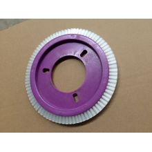 0.4mm White Nylon Wheel Brush for Lk Stenter Machinery (YY-629)